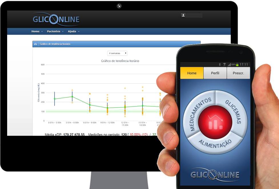 app para diabetes e controle de glicemia