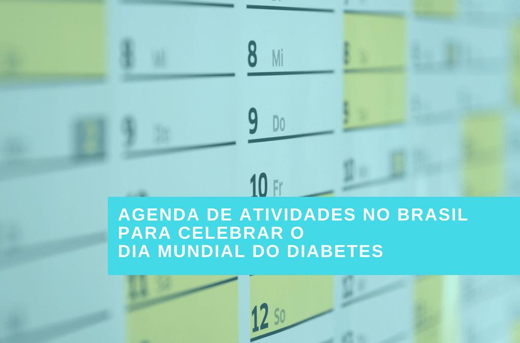 NOVEMBRO AZUL – DIABETES: AGENDA DE EVENTOS